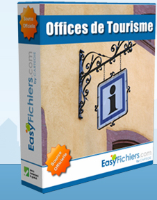 Achat fichier Offices de Tourisme et Syndicats d'Initiative